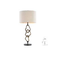 CHAIN TABLE LAMP