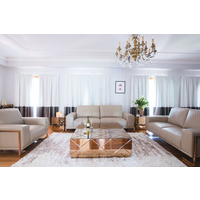 CHARME MODERN LEATHER LOUNGE AND SOFA