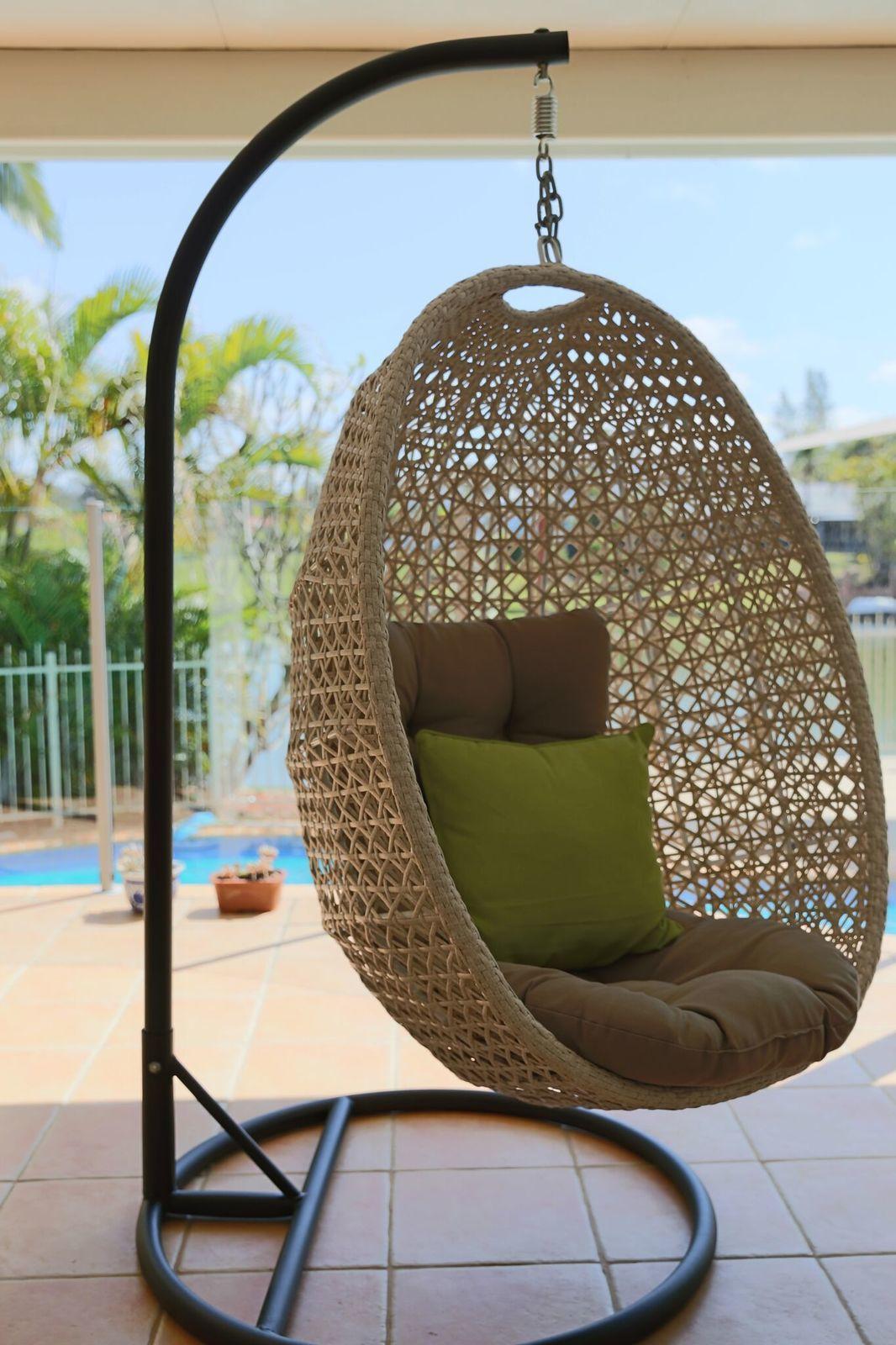 Picture of: Hanging Egg Chair Out Door Furniture Brisbane Designer