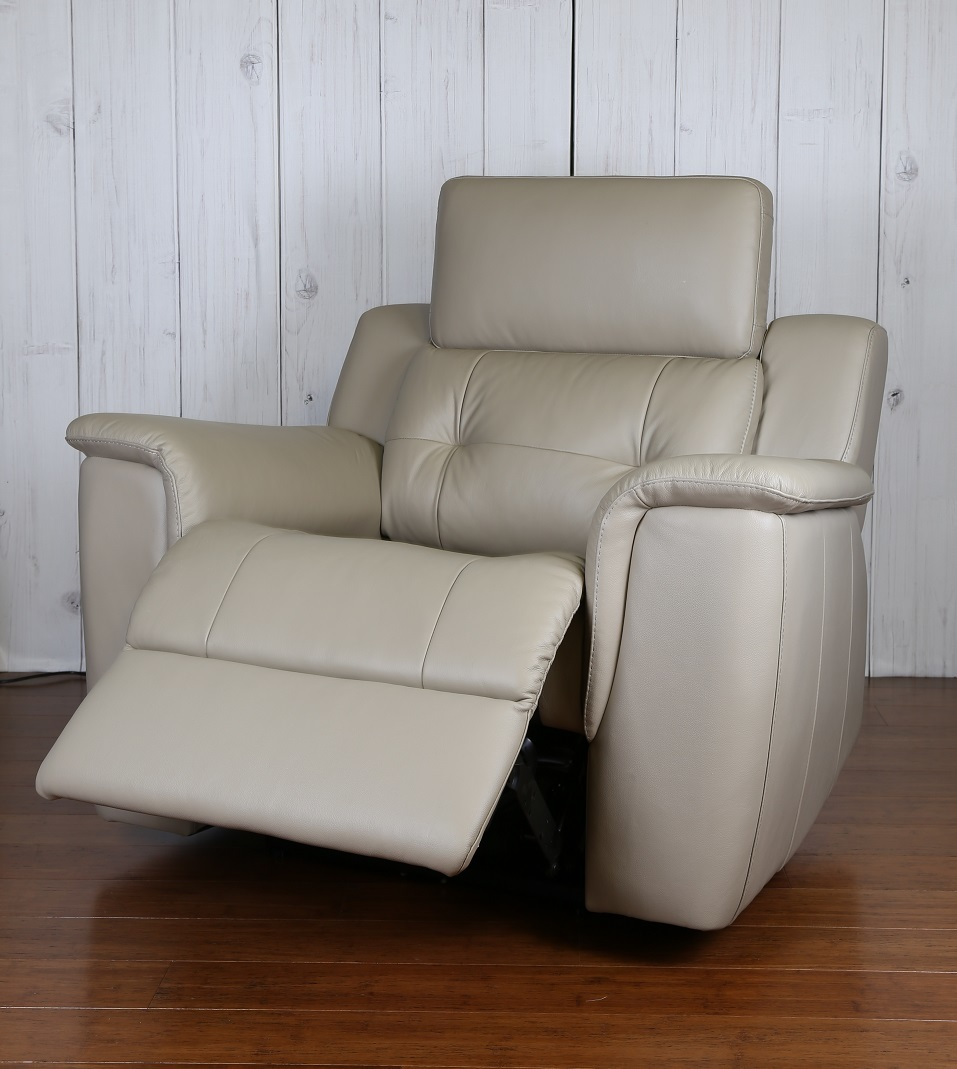 Leather Sofa Lounge Furniture Recliner Brisbane Modern