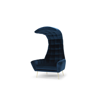 VIPER VELVET ARM CHAIR