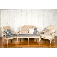 HILDA FRENCH PROVINCIAL FABRIC CHAIR RANGE