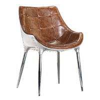 AVIATOR | TUB INDUSTRIAL PU LEATHER CHAIR