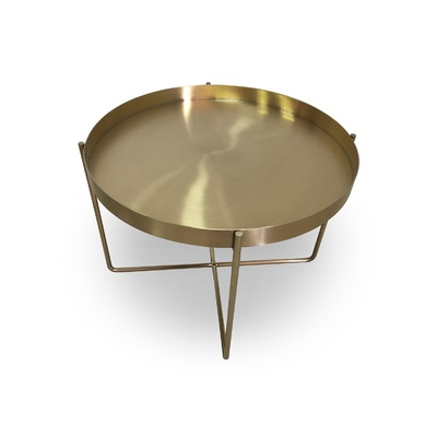 BELLA ROSE GOLD COFFEE TABLE