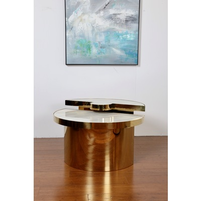 GLADIATOR GOLD COFFEE TABLE