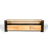 BEAM INDUSTRIAL TIMBER ENTERTAINMENT UNIT