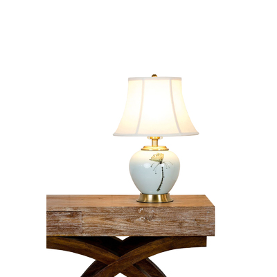 LOTUS SMALL PORCELAIN TABLE LAMP