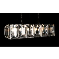 PRISM | RECTANGULAR CRYSTAL CHANDELIER
