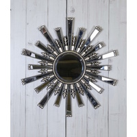 CRYSTAL DECORATIVE MIRROR ROUND