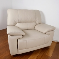 NINA | 3-SEATER ELECTRIC RECLINER - SAND