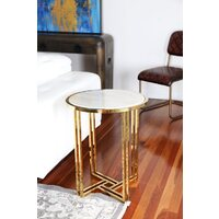 BELL | ELEGANT MARBLE SIDE TABLE
