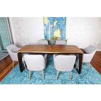ATOLL TIMBER DINING TABLE
