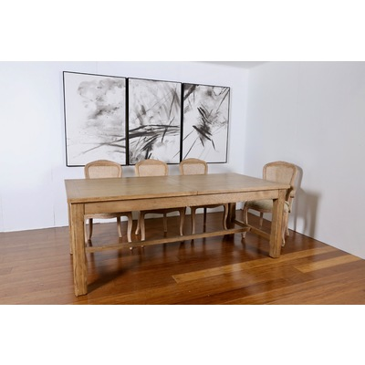 'DRIFT' DUAL EXTENSION DINING TABLE