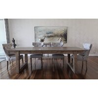 FOTHCRAH OAK & BIRCHWOOD EXTENSION DINING TABLE RANGE