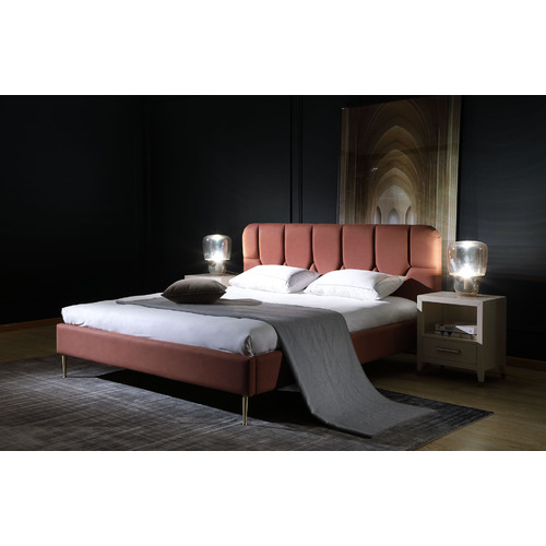 CALYPSO | CONTEMPORARY BED - BROWN