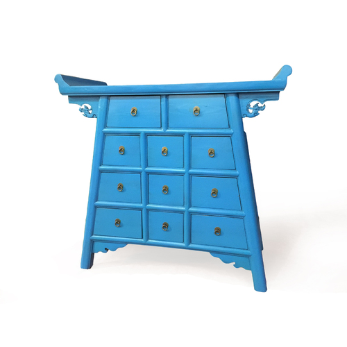 CHINESE BLUE WINGED TIMBER BUFFET