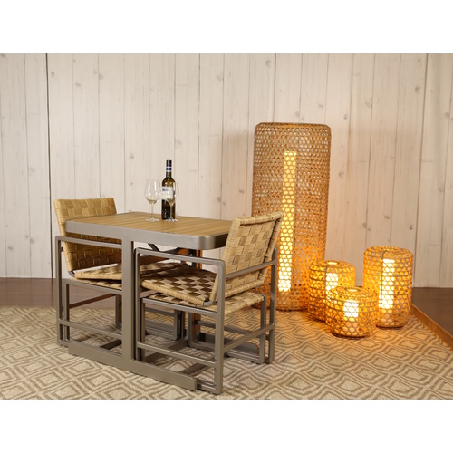 SHELBY OUTDOOR DINING SETTING