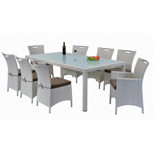 NEW VICTORIA 9 PIECE OUTDINING SETTING