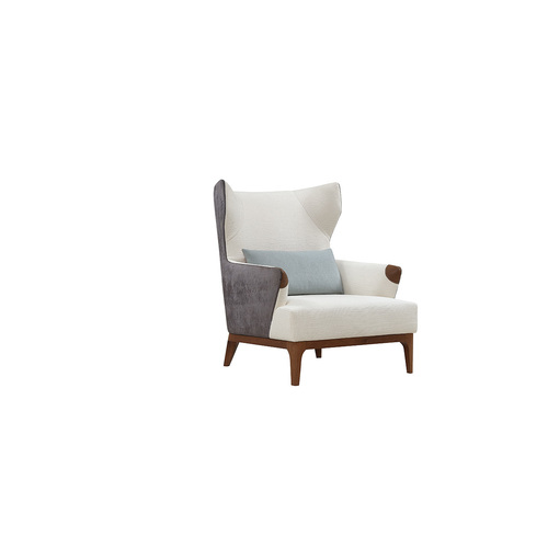 CALIFORNIA | RETRO TWO TONE WINGBACK ARMCHAIR