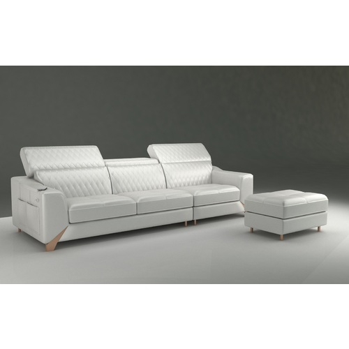 ROSETTA | LEATHER LOUNGE - 3 SEATER