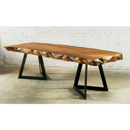 RAVINE TIMBER DINING TABLE