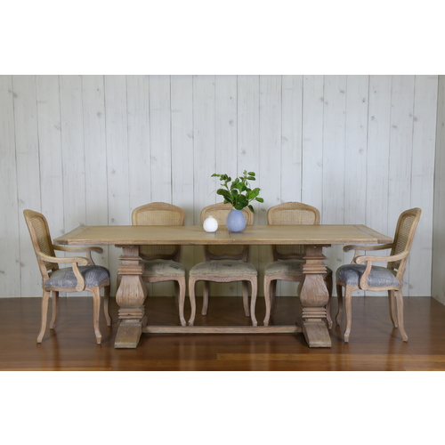 KINGSFORD DINING TABLE 2.2 x 1.1