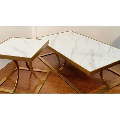 SAVINI | STUNNING SIDE TABLE - WHITE